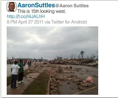 Tuscaloosa News, Twitter, Aaron Suttles